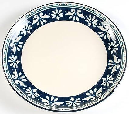 Bobby Flay Marbella 16u0026quot; Chop Plate (Round Platter) Fine China Dinnerware  sc 1 st  Amazon.com & Amazon.com | Bobby Flay Marbella 16