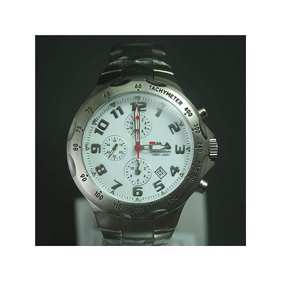 Fila uomo-orologio Cronografo in acciaio inox luenette ...