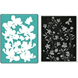 Sizzix Textured Impressions Embossing Folder with Stamp - Silhouette Vines Set by Hero Arts