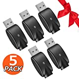 [Upgrade Version] 510-Thread USB Smart Charger with Over-Charge Protection – 4 Pack
