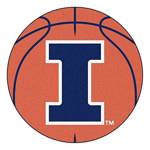 University of Illinois Basketball Area Rug