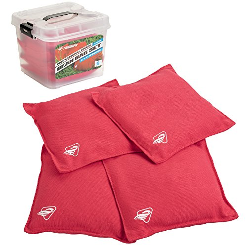 Triumph Sports Outdoor Game's, 4-Pack 16oz, Tub Professional Red Canvas...
