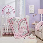 Lambs-Ivy-Magic-Unicorn-PinkPurple-Rainbow-3-Piece-Baby-Crib-Bedding-Set