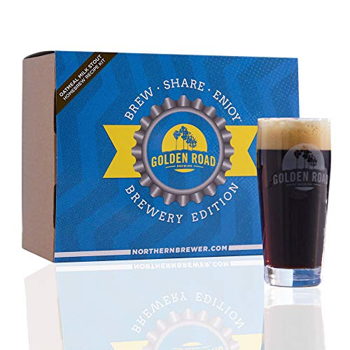 Milk Stout Beer - Oatmeal Milk Stout - Golden Road Brewing Homebrew Beer Brewing Recipe Kits - Brew Share Enjoy Brewery Edition Malt Extract Beer Kits
