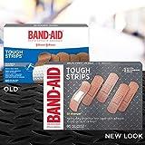 Band-Aid Brand Tough-Strips Adhesive Bandage for