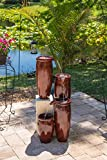 Kenroy Home 51038RST Vessel Indoor/Outdoor Fountain, Rust Review