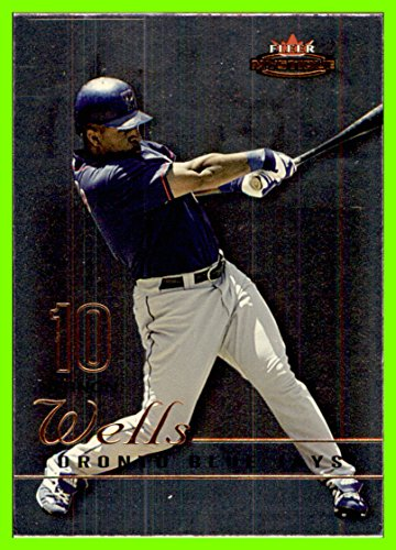 2003 Fleer Mystique #80 Vernon Wells toronto blue jays (80c)