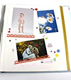 ZOVIEW Magnetic Self-Stick Page Photo Album, Family Album, Leather Cover, Hand Made DIY Albums Holds 3X5, 4X6, 5X7, 6X8,8X10 Photos A52045