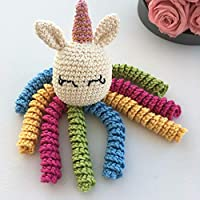 Crochet Octocorn for babies -Unicorn octopus