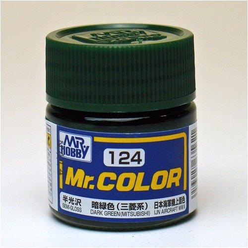 Mr.カラー C124 暗緑色 (三菱系)