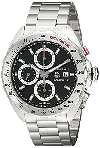 TAG Heuer Men's CAZ2010.BA0876 Analog Display Swiss Automatic Silver Watch (Bezel Tag Heuer)