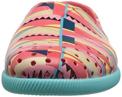 Native Womens Verona Fashion Sneaker Snapper Red/Cabo Blue/Biggie 1v3AXNQ