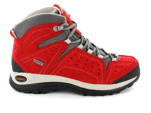GiXa Technology de senderismo zapatos ARRIBA HI Kids GTX rosso