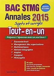ANNALES 2015 Tout-en-un Bac STMG