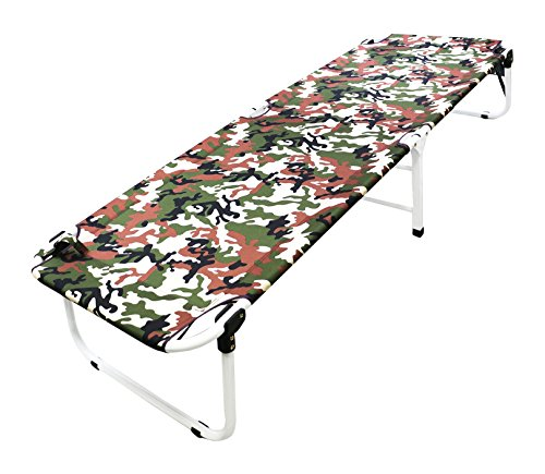 Magshion Portable Military Fold Up Camping Bed Cot + Free Storage Bag- 5 Colors