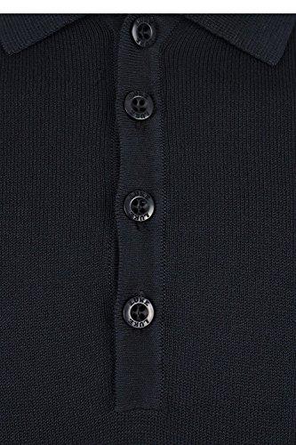 Luke 1977 Herren Poloshirt schwarz anthrazit Medium