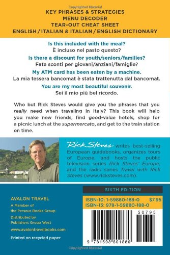 Rick Steves' Italian Phrase Book and Dictionary by Rick Steves