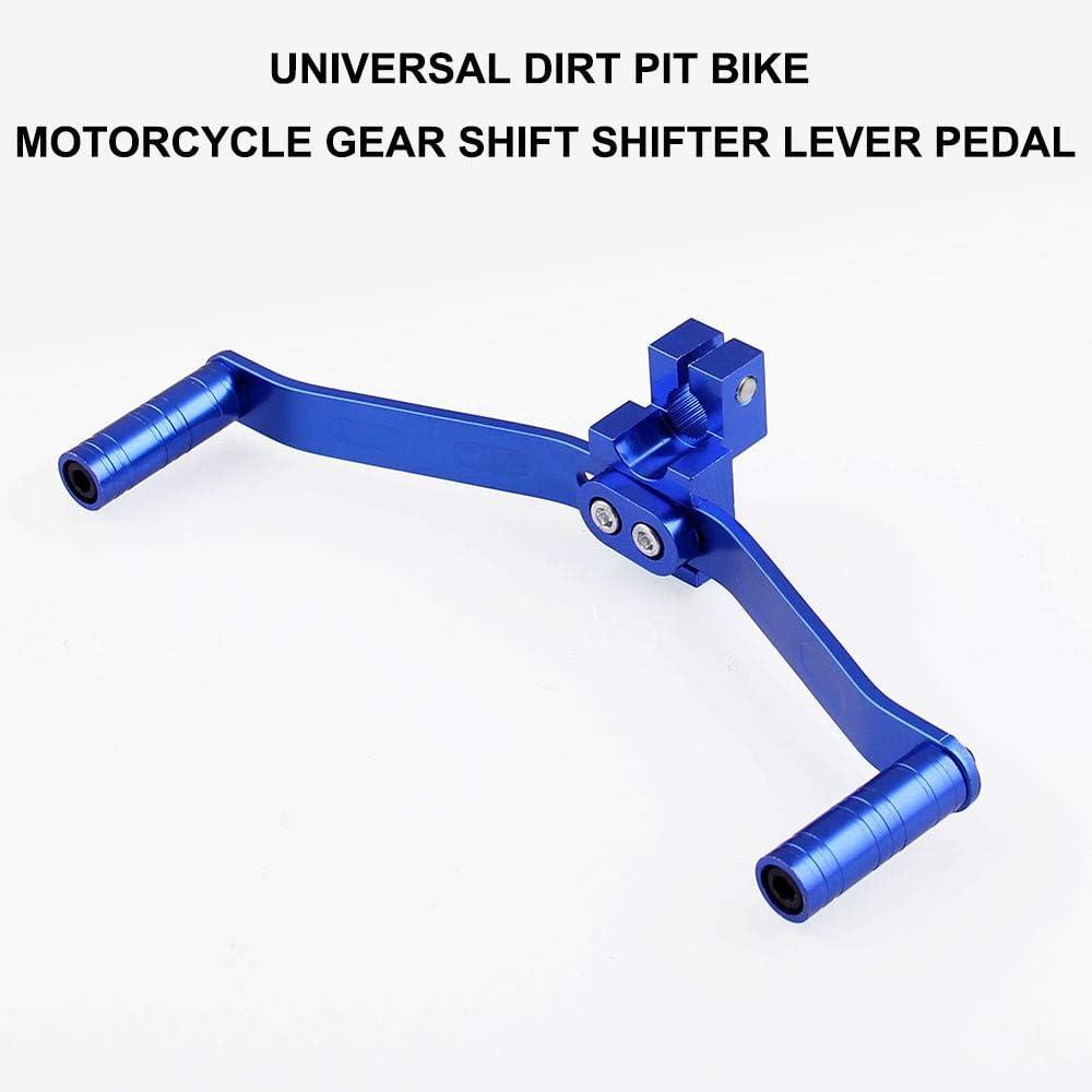C Cambio Moto Leva Universale Moto Modificata Parti In Lega Di Alluminio Spostamento Doppia Testa Leva Gear Shifter Leva Del Cambio