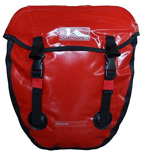 Fahrradtasche Satteltasche Gepäckträgertasche Wasserdichte Tasche RIXEN & KAUL, Rot