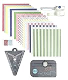 We R Memory Keepers 1-2-3 Punch Board and Banner Punch Board Party Pack - 32 Piece Tool Bundle
