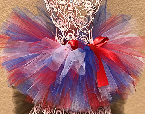 Patriotic Tutu, USA Tutu, Baby Tutu, July 4 Tutu, Girls Tutu, Poto Prop Tutu, Infant Tutu, Birthday Tutu, Toddler Tutu