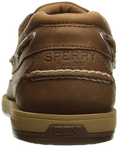 Sperry Top-sider Mens Noleggio 2-eye W / Asv Scarpe Da Barca, Abbronzatura Scura, 8 Us / Us Size Conversione M Us
