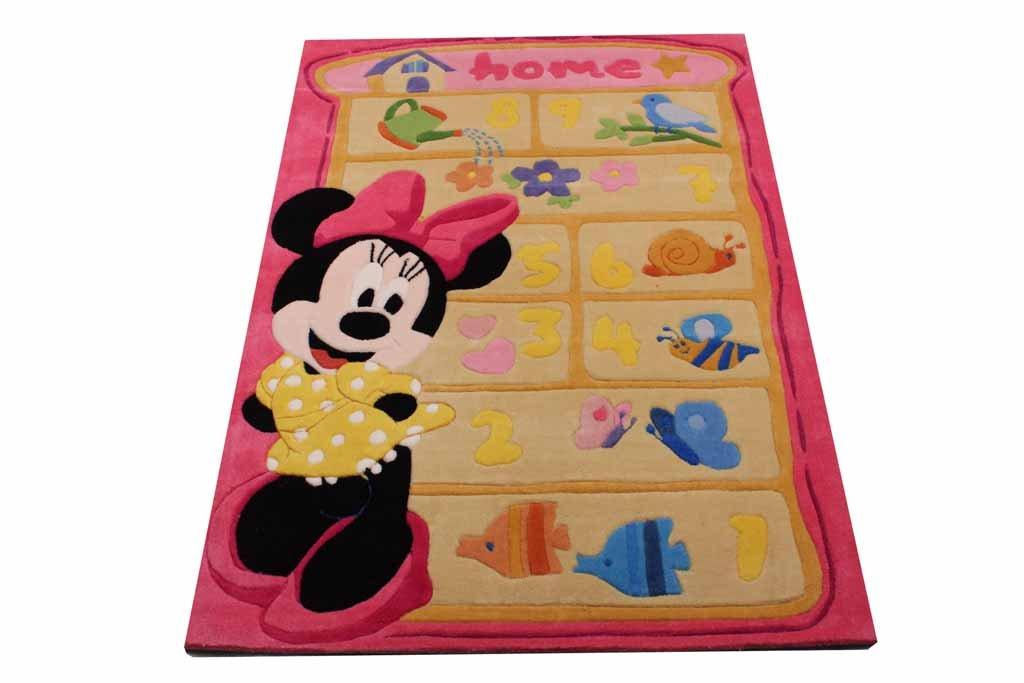 Disney Kinderteppich Minnie Hüpfteppich 168 x 115 cm