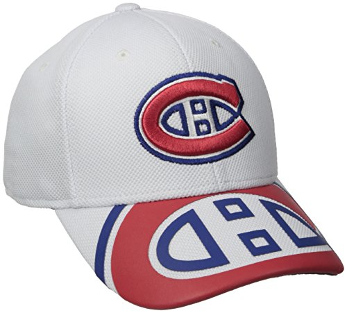 Jersey Hockey Canadiens Montreal (NHL Montreal Canadiens Men's Draft Take Down Cap, Large/X-Large, White)