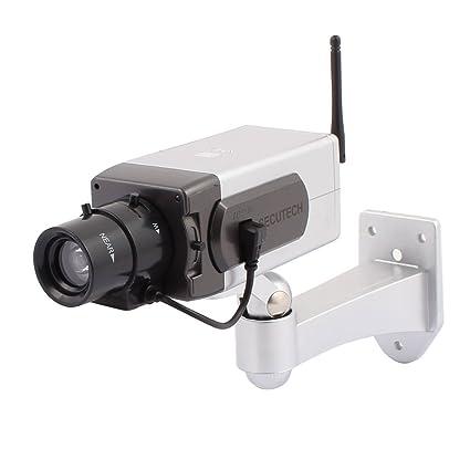 Camaras de vigilancia falsas con movimiento