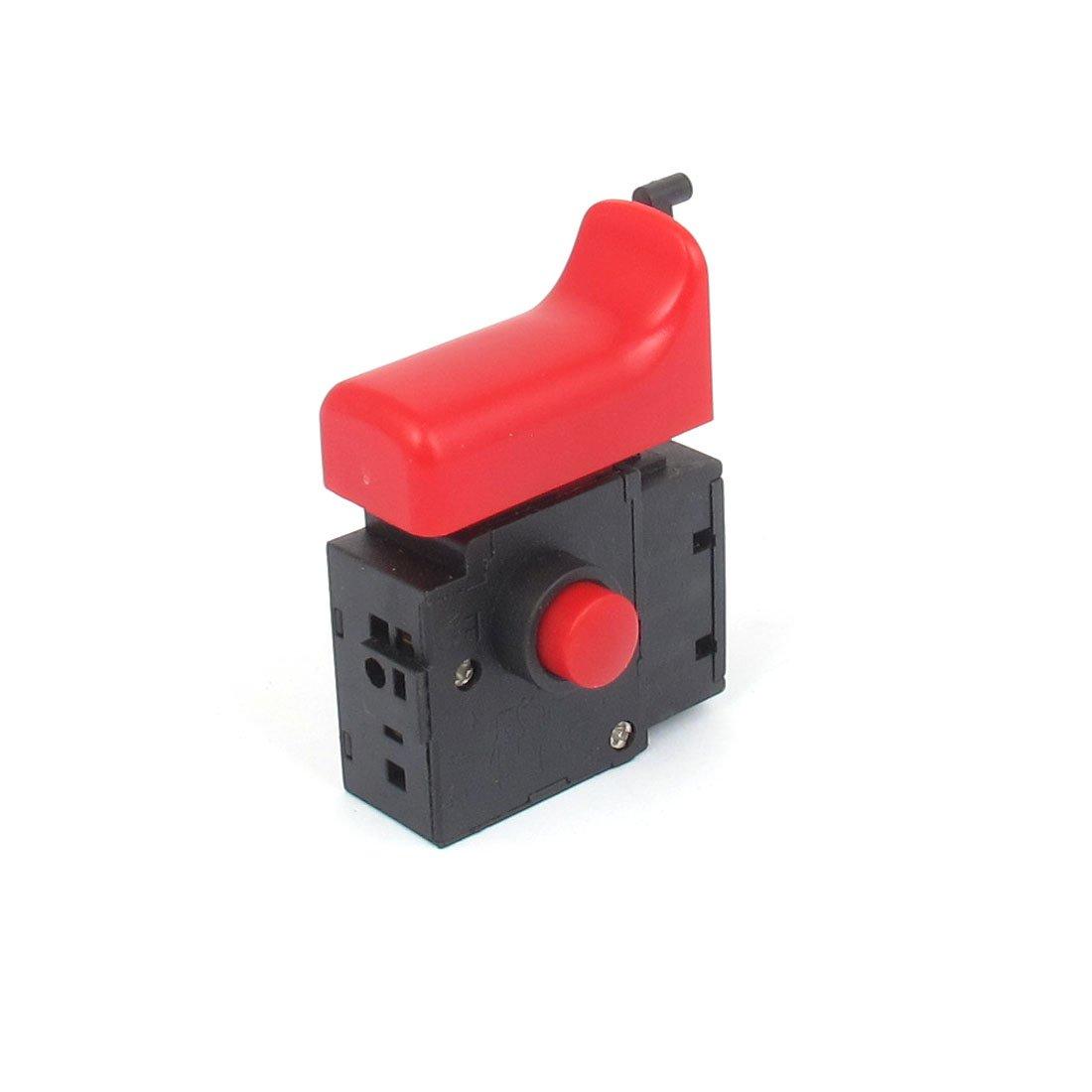 sourcingmap CA 250V 6A SPST Interruptor de sierra de Gatillo Moment/áneo Instant/áneo para Herramienta El/éctrica