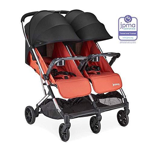 Joovy Kooper X2 Stroller, Paprika