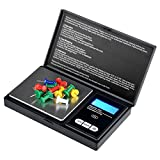 Everydaysource Black Mini 0.01~100g Jewelry Digital Pocket Scale
