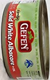 Gefen Solid White Albacore In Oil 6 Oz. Kosher for Passover Pack Of 3