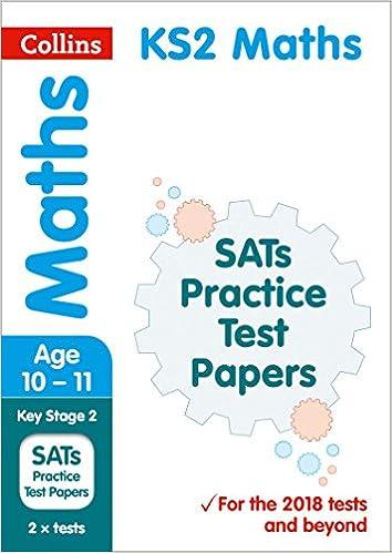 KS2 Maths SATs Practice Test Papers: 2019 tests (Collins KS2 ...