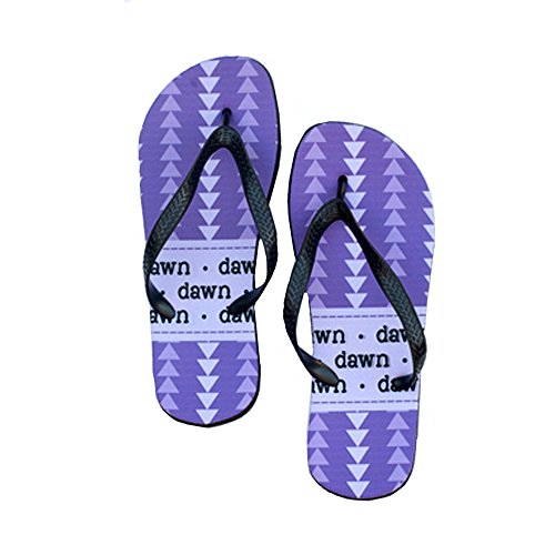 Personalized Flip Flops (Child, Purple - Kids For Havianas