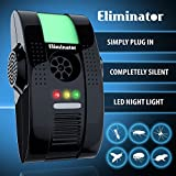 Eliminator™ Electronic Powerful Pest Repeller with Night Light - Eliminates Insects and Rodents ()