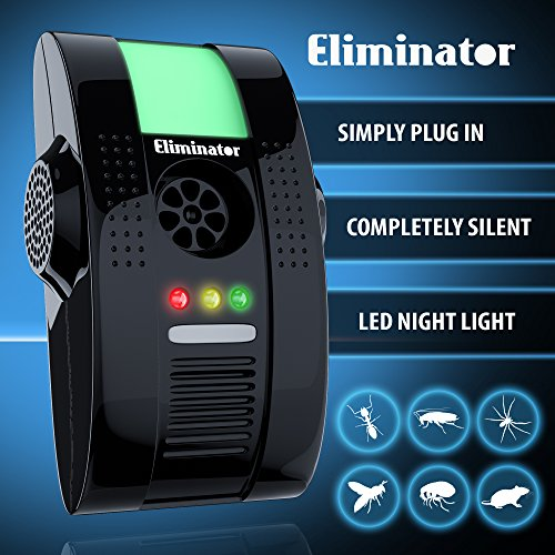 EliminatorTM Electronic Powerful Repeller Night