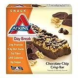 Atkins Day Break Chocolate Chip Crisp - 5 x 1.2 Oz Bars