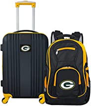 NFL Green Bay Packers 2-Piece Luggage Set