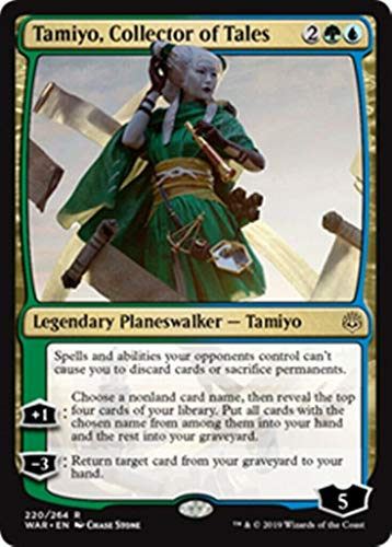 MTG War of the Spark: Tamiyo, Collector of Tales - 220/264 - Rare - NM/M