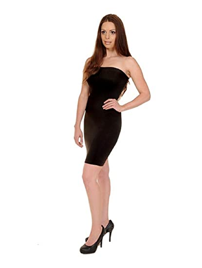 dfd31b1f49 Love My Seamless Women s Tube Strapless Dress Cami -One Size Black at  Amazon Women s Clothing store  Tank Top And Cami Shirts