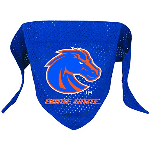 NCAA Boise State Broncos Pet Bandana, Team Color, Large