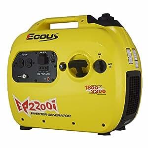 Ecous EP2200I Inverter Generator, Gasoline Generator,EPA and Carb Complia
