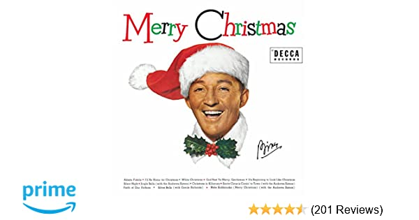 merry christmas - Bing Crosby White Christmas Album