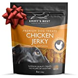 Emmy's Best #1 Premium Chicken Jerky Dog Treats Made in USA Only All Natural – No Fillers, Additives or Preservatives