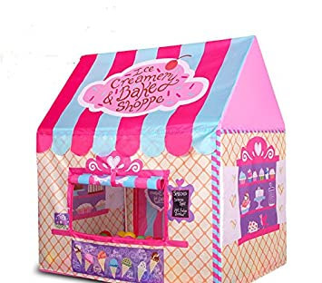 indoor outdoor play tents Ice Cream and Bakery Shop Play Tent