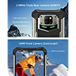 "Telephone Portable Incassable, DOOGEE S88 Pro Smartphone Incassable 4G, 10000 mAh,6.3""FHD, 6Go+128Go, 21MP + 16MP Caméra… 10"