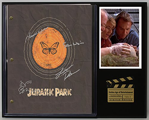 Jurassic Park Ltd Edition Reproduction Movie Script Cinema Display C3