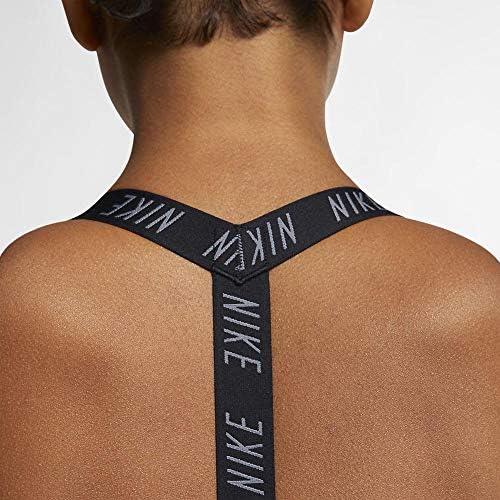 Amazon Com Nike Womens Indy Logo Bra Black Black Cool Grey Xs Clothing