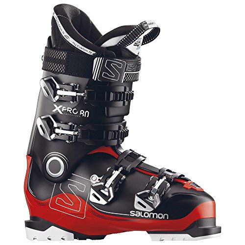 Salomon X-Pro 80 Ski Boots 2018 - 30.5/Black-Red-Anthracite ()